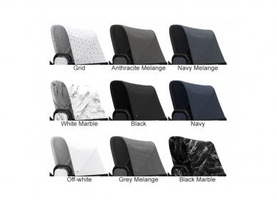 Universalus vežimėlis Dubatti 2in1 White/Melange black/White 7