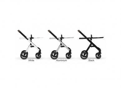 Universalus vežimėlis Dubatti 2in1 White/Melange black/White 9