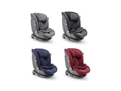 Inglesina newton 1.2.3 IFIX automobilinė kėdutė 9 -36 kg grey su baze 4