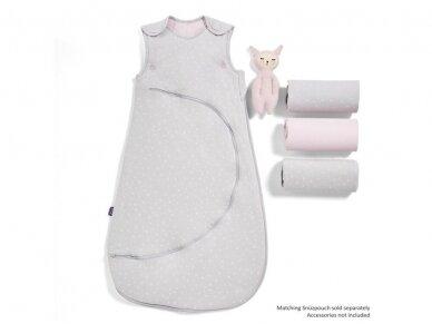 3 dalių patalynės komplektas lovytei - lopšiukui Pink Spot 5