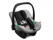 Automobilinė kėdutė ABC Design Tulip Graphite Grey 0-13 kg.