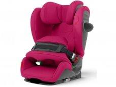 Automobilinė kėdutė Cybex Pallas G i-Size Magnolia Pink 9-36 kg. 1-2-3 gr.
