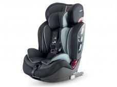 Automobilinė kėdutė Inglesina Gemino i-size Black 9-36kg 1/2/3gr.