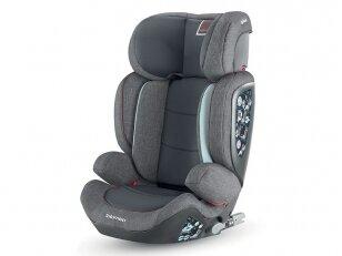 Automobilinė kėdutė Inglesina Tolomeo Grey 15-36kg 2/3gr. izofix