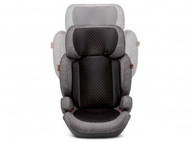 Automobilinė kėdutė ABC Design Mallow 2/3 (15-36kg.) Diamond Edition Asfalt 2