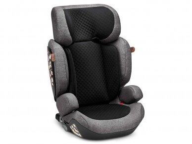 Automobilinė kėdutė ABC Design Mallow 2/3 (15-36kg.) Diamond Edition Asfalt