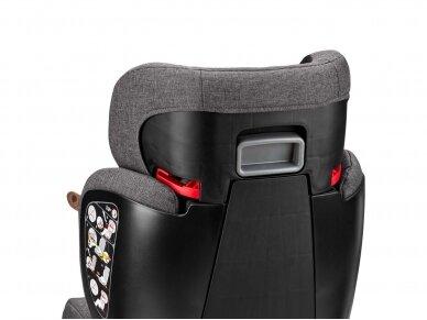 Automobilinė kėdutė ABC Design Mallow 2/3 (15-36kg.) Diamond Edition Asfalt 7