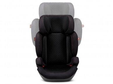 Automobilinė kėdutė ABC Design Mallow 2/3 (15-36kg.) Diamond Edition Black 2