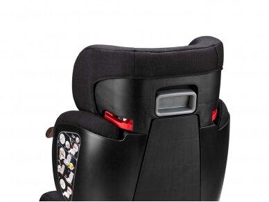 Automobilinė kėdutė ABC Design Mallow 2/3 (15-36kg.) Diamond Edition Black 7