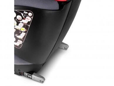Automobilinė kėdutė ABC Design Mallow 2/3 (15-36kg.) Fashion Edition Stone 4