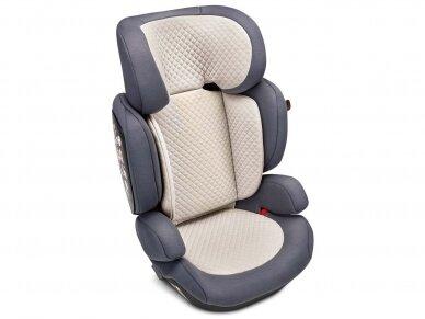 Automobilinė kėdutė ABC Design Mallow 2/3 (15-36kg.) Fashion Edition Stone 5