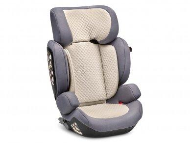 Automobilinė kėdutė ABC Design Mallow 2/3 (15-36kg.) Fashion Edition Stone