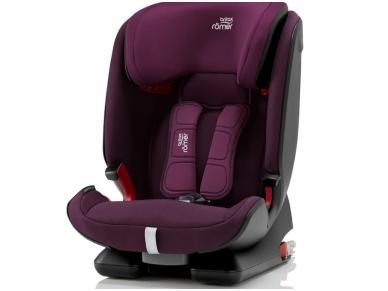 Automobilinė kėdutė Britax ADVANSAFIX IV M Burgundy Red ZS SB