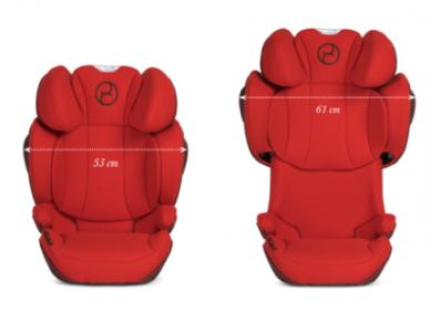 Automobilinė kėdutė Cybex Solution Z-Fix 15-36kg PLUS Deep Black 2