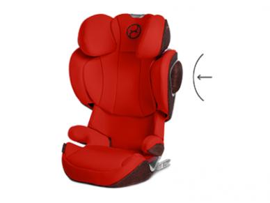 Automobilinė kėdutė Cybex Solution Z-Fix 15-36kg PLUS Deep Black 3