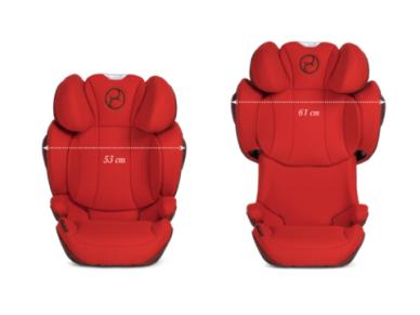 Automobilinė kėdutė Cybex Solution Z-Fix 15-36kg PLUS Soho Grey 2