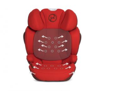 Automobilinė kėdutė Cybex Solution Z-Fix 15-36kg PLUS Soho Grey 5