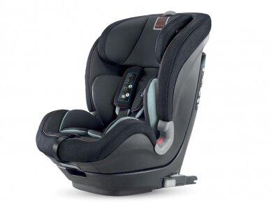 Automobilinė kėdutė Inglesina Caboto IFIX Black 9-36 kg. 1-2-3 gr.