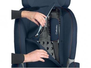 Automobilinė kėdutė Inglesina Caboto IFIX Grey 9-36 kg. 1-2-3 gr. 4