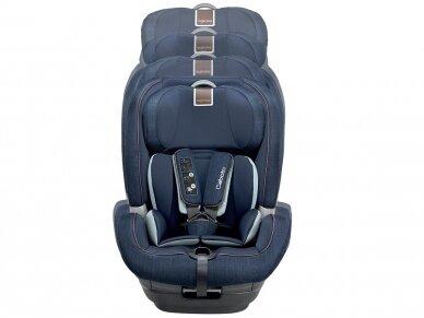Automobilinė kėdutė Inglesina Caboto IFIX Grey 9-36 kg. 1-2-3 gr. 6
