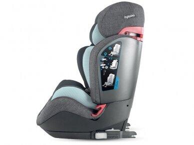 Automobilinė kėdutė Inglesina Gemino i-size Black 9-36kg 1/2/3gr. 2