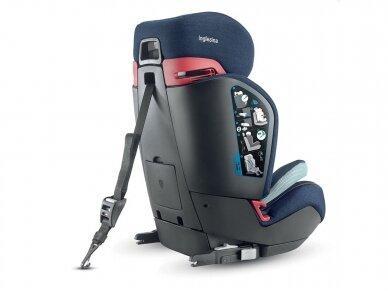 Automobilinė kėdutė Inglesina Gemino i-size Black 9-36kg 1/2/3gr. 3