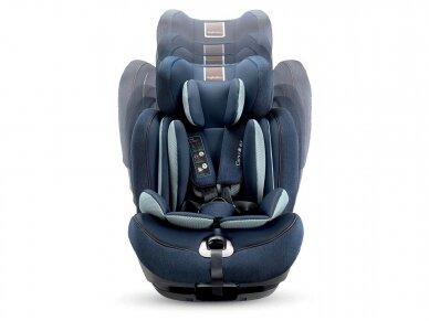 Automobilinė kėdutė Inglesina Gemino i-size Grey 9-36kg 1/2/3gr. 7