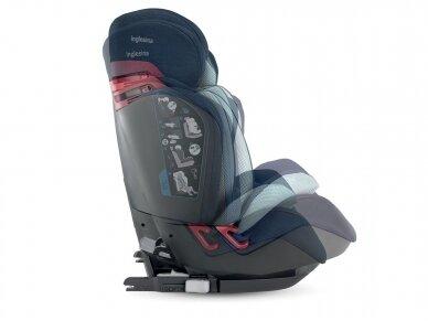 Automobilinė kėdutė Inglesina Gemino i-size Black 9-36kg 1/2/3gr. 8