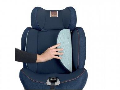 Automobilinė kėdutė Inglesina Gemino i-size Grey 9-36kg 1/2/3gr. 10