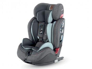 Automobilinė kėdutė Inglesina Gemino i-size Grey 9-36kg 1/2/3gr.
