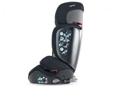 Automobilinė kėdutė Inglesina Tolomeo Black 15-36kg 2/3gr. izofix 2
