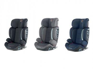 Automobilinė kėdutė Inglesina Tolomeo Black 15-36kg 2/3gr. izofix 9