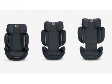 Automobilinė kėdutė Inglesina Tolomeo Black 15-36kg 2/3gr. izofix 3