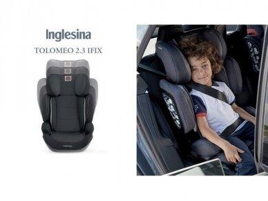 Automobilinė kėdutė Inglesina Tolomeo Black 15-36kg 2/3gr. izofix 4