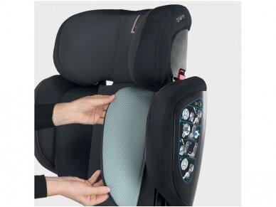 Automobilinė kėdutė Inglesina Tolomeo Black 15-36kg 2/3gr. izofix 6