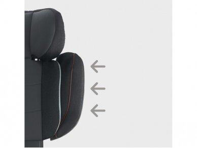 Automobilinė kėdutė Inglesina Tolomeo Black 15-36kg 2/3gr. izofix 7