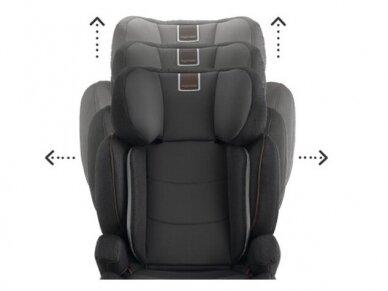 Automobilinė kėdutė Inglesina Tolomeo Black 15-36kg 2/3gr. izofix 8