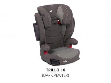 Automobilinė kėdutė Joie Trillo LX Dark Pewter 15-36 kg  5