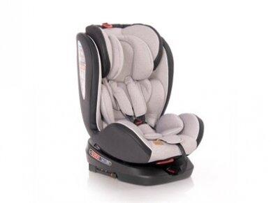 Automobilinė kėdutė Lorelli Nebula Isofix  0-36kg Beige