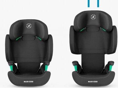 Automobilinė kėdutė Maxi Cosi Morion I-size Basic Black  grupė 2/3  (15-36kg.) 2