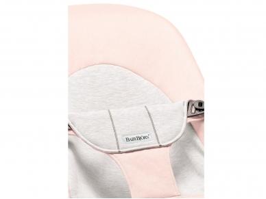 BABYBJÖRN gultukas Balance Soft Jersey Light pink/Grey 2