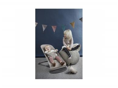 BABYBJÖRN gultukas Bliss Sand grey cotton 3