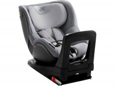 BRITAX automobilinė kėdutė DUALFIX i-SIZE Grey Marble ZS SB