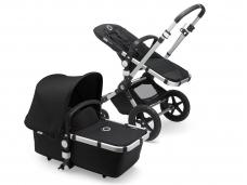 Universalus vežimėlis Bugaboo Cameleon 3 PLUS v2 ALU/BLACK-BLACK
