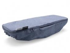 Bugaboo donkey2 šoninio krepšio uždengimas / side luggage basket cover blue melange