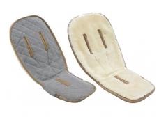 Bugaboo Fox / Donkey / Cameleon / Bee / Buffalo merinosų vilnos įklotas / wool seat liner