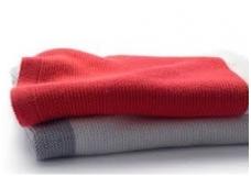 Bugaboo užklotas Fox / Cameleon / Donkey / Buffalo / Bee / Ant  light cotton blanket NEON RED MULTI