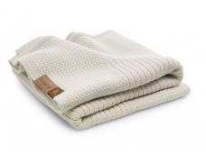 Bugaboo vežimėlio vilnos užklotas / soft wool blanket OFF WHITE MELANGE