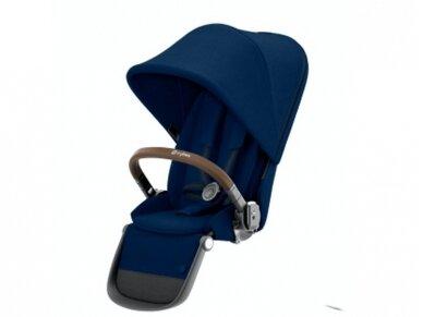 Cybex Gazelle S seat Navy Blue,Taupe frame