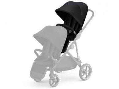 Cybex Gazelle S seat Soho Grey, Black frame 2